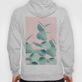 Eucalyptus Leaves Green Blush #1 #foliage #decor #art #society6 Hoodie