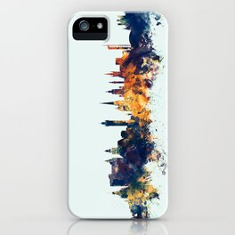 Glasgow Scotland Skyline iPhone Case