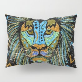 Intense Lion Pillow Sham
