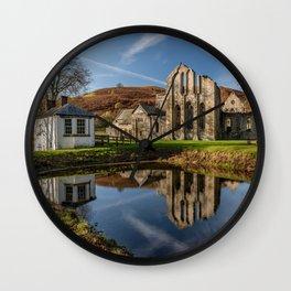 Abbey Reflection Wall Clock