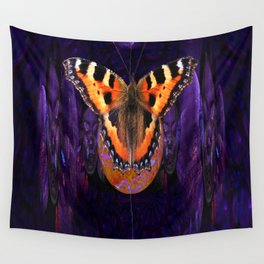 Butterfly Source Power Wall Tapestry
