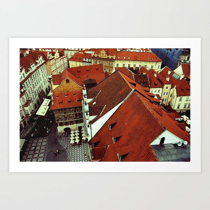 Praga Art Print