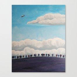Flatland Canvas Print