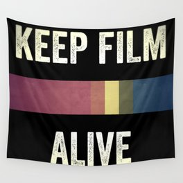 Keep Film Alive Wall Tapestry