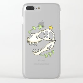 Tyrant King Clear iPhone Case