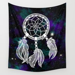 Galaxy Dreamcatcher Wall Tapestry