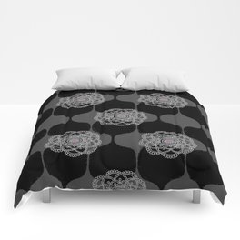 I DREAM OF GENIE - BLACK/GREY/PINK Comforters
