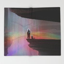 PHAZED PixelArt 9 Throw Blanket