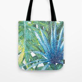 Philodendron & Flora Tote Bag