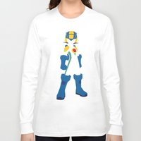 megaman Long Sleeve T-shirts featuring Megaman EXE by JHTY