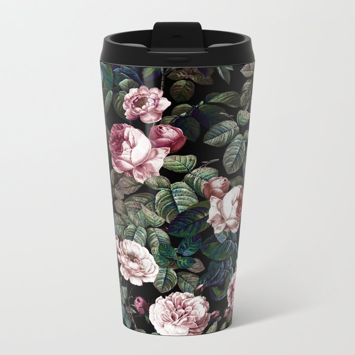 NIGHT FOREST XX Metal Travel Mug