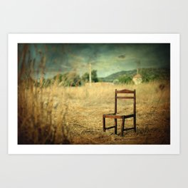 La Chaise Art Print