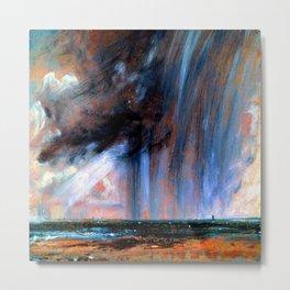 John Constable Rainstorm Over the Sea Metal Print