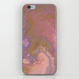 Smoothie bubbles iPhone Skin