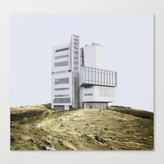 Misplaced Series - Whitney Museum Canvas Print