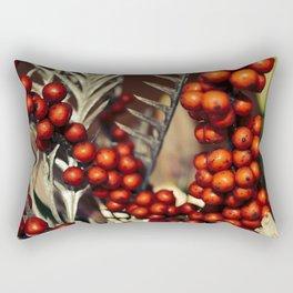 holly berries 715 Rectangular Pillow