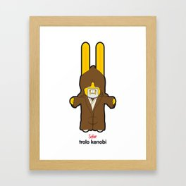 Sr. Trolo / kenobi Framed Art Print