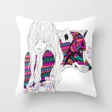 ▲SHE-WOLF▲ Throw Pillow