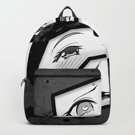 Ahegao Eyes Backpack