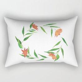 Festive Ring Rectangular Pillow