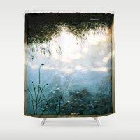 jazz Shower Curtains featuring JAZZ by Ginevra
