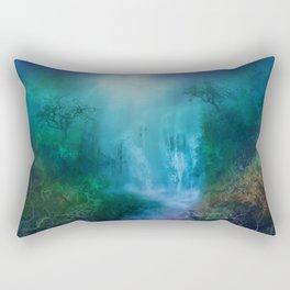 purple forest landscape Rectangular Pillow