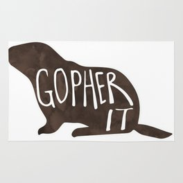 Gopher it! Rug