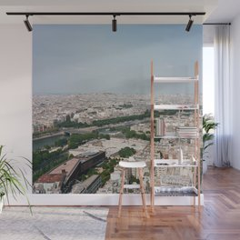 Paris From Above Wall Mural