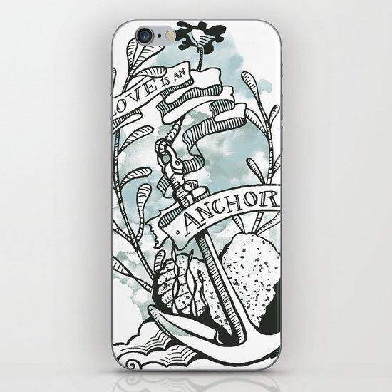 Love is an Anchor iPhone & iPod Skin