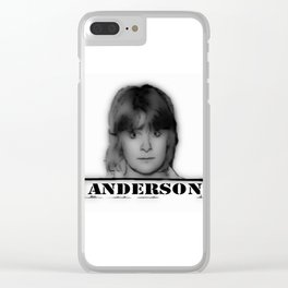 ANDERSON Clear iPhone Case