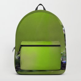 A Riot of Early Morning Watrlens Dewdrops Backpack