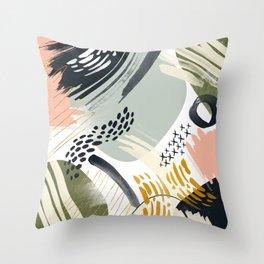 Abstract autumn season Throw Pillow