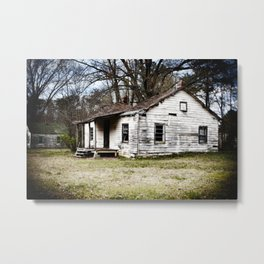 A sad shack. Metal Print