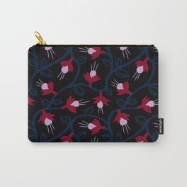Fuchsias & Vines Carry-All Pouch
