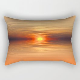 Sunkissed horizon Rectangular Pillow