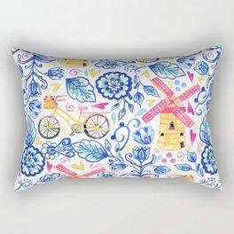 Netherlands Whimsy Rectangular Pillow