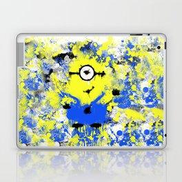 Splatter Painted Minion  Laptop & iPad Skin