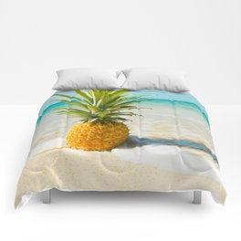 Pineapple Beach Comforters