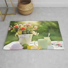 cake color cup Rug