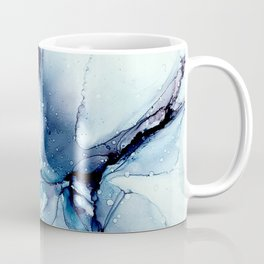 Blue Strike Out Coffee Mug