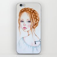 doll iPhone & iPod Skins featuring Doll by Black Fury
