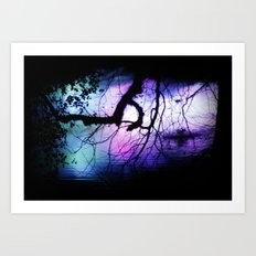 magic nature Art Print