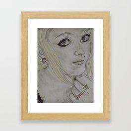 Scene Girl - Krista Rae Framed Art Print