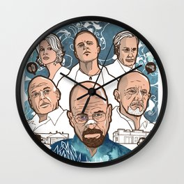 Breaking Bad: The Good, The Bad & The Ugly Wall Clock