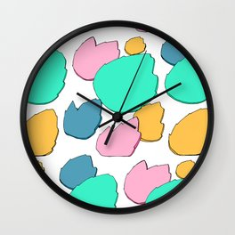 Floating Fire Wall Clock