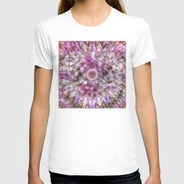 Floral fusion mandala T-shirt