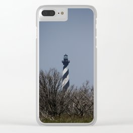 Cape Hatteras night Clear iPhone Case
