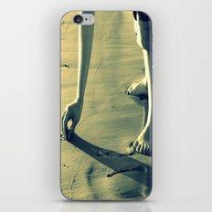 Girl on the Beach iPhone & iPod Skin