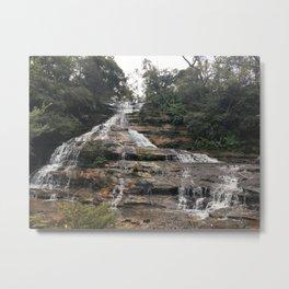 Waterfalls in Cairns Metal Print