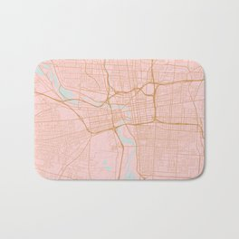 Columbus map, Ohio Bath Mat